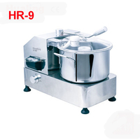 HR 9 restaurant used commercial 9L meat vegetable cutter food processor,110V/220V electric Stainless Steel cutting1500 3000r/min