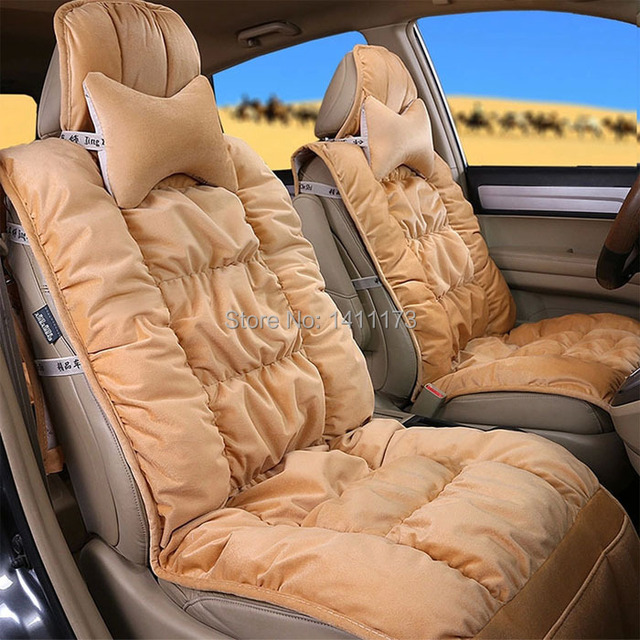 Classic Car Seat Cushion Cover Set Of High Quality Velvet Material Universal Covers For 5