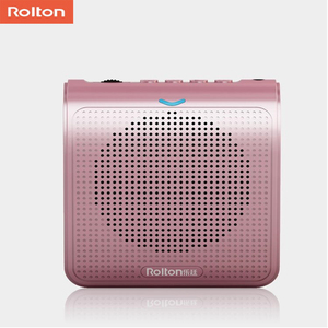 Image 3 - Rolton K100 Portable Loud Speaker Mini Voice Amplifier Microphone With USB TF Card FM Radio For Teacher Tour Guide Promotion