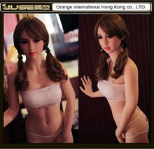 2016 NEW HOT 153cm small breast the sexual doll,lovely full silicone love doll for adult,lifelike japanese sex toys men,ST-243-1