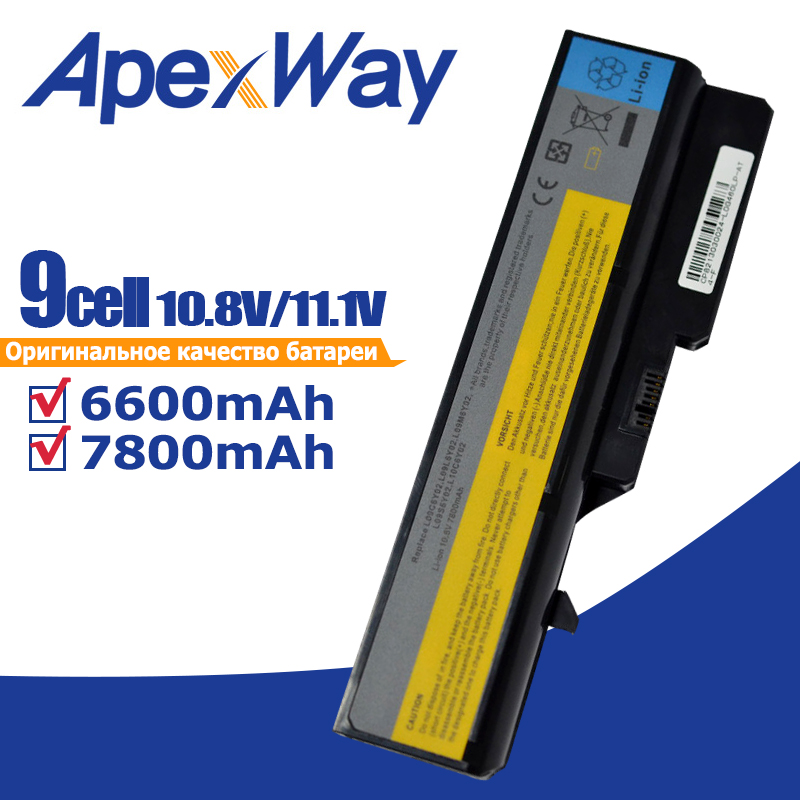 Laptop Battery for <font><b>Lenovo</b></font> IdeaPad G460 B470 V470 B570 G470 G560 G570 G770 G780 V300 Z370 Z460 Z470 <font><b>Z560</b></font> Z570 K47 image