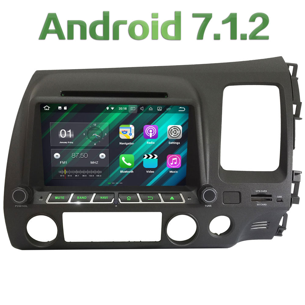 8 Android 7 1 Quad Core 2GB RAM 4G Multimedia Car DVD Player Radio Stereo GPS