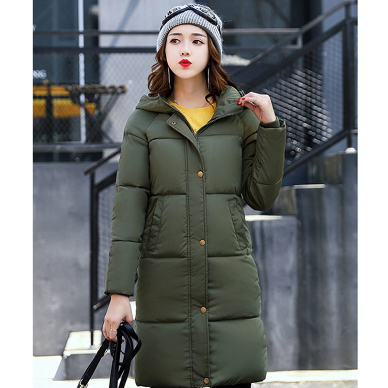 Hooded Women Winter Coat 2017 New Thickening Long Parkas Warm Jacket Female Down Cotton Padded Outwear Coat Snow Wear BL14 children winter coats jacket baby boys warm outerwear thickening outdoors kids snow proof coat parkas cotton padded clothes