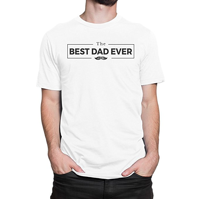 Best Dad Ever Mens Print Haus T-Shirt Printed Summer Style Tees Male Harajuku Top Fitness Brand Clothing