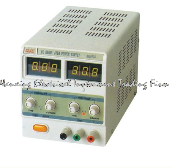Arrivée rapide QJE QJ6003S USB PROGRAMMABLE DC alimentation de laboratoire monophasé 0 ~ 60 V 0-3A résolution 100mV 1mA