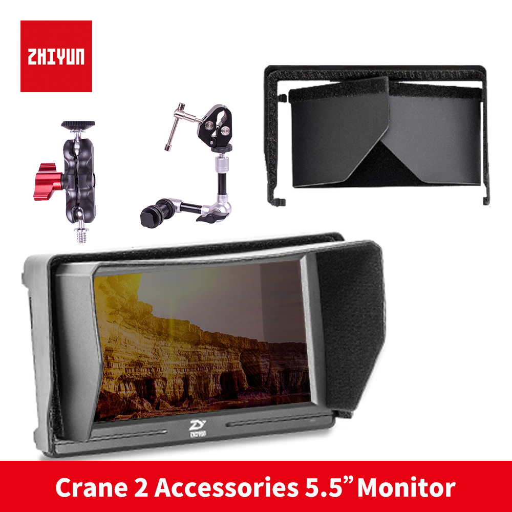 ZHIYUN 5.5 Mini camera Monitor with HDMI Input Output IPS Full HD 1920x1080 LCD monitoring for Gimbal Stabilizer Rig