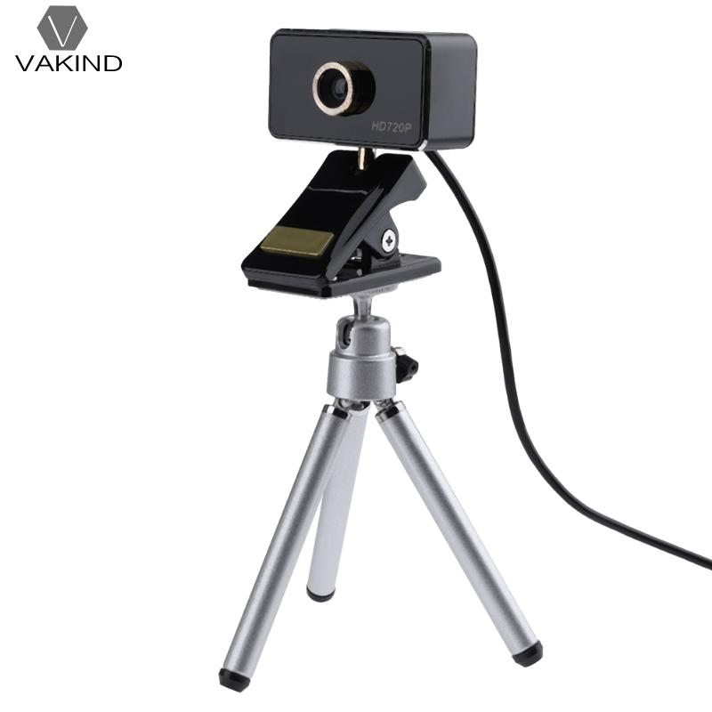 360 Degree Rotation USB Web Camera 720P High Definition 1MP Notebook Computer PC Webcam Built-in Microphone with Tripod Stand