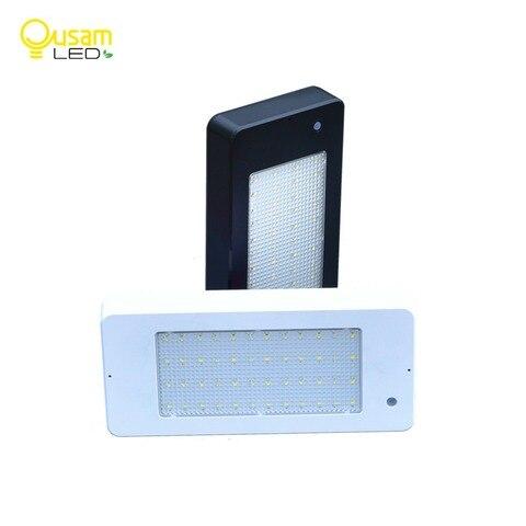 iluminacao led ao ar livre lampada de parede solar com sensor de movimento radar 800lm