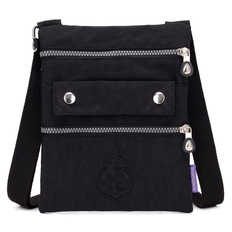 Women Messenger Bags Ladies Waterproof Nylon Handbag Female Shoulder Bag Ladies Crossbody Bags Purses Bolsa Sac A Main
