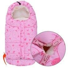Новорожденных Коляски спальные мешки конверт для ребенка зимой wrap сна мешки для одеяло пеленание коляски кровать пеленать постельные принадлежности o3