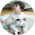 Baby Girl Sale New Arrival Unisex Full 2016 Autumn Children's Fashion Cotton Long Sleeved Two Sets Of Boys And Girls Clothing