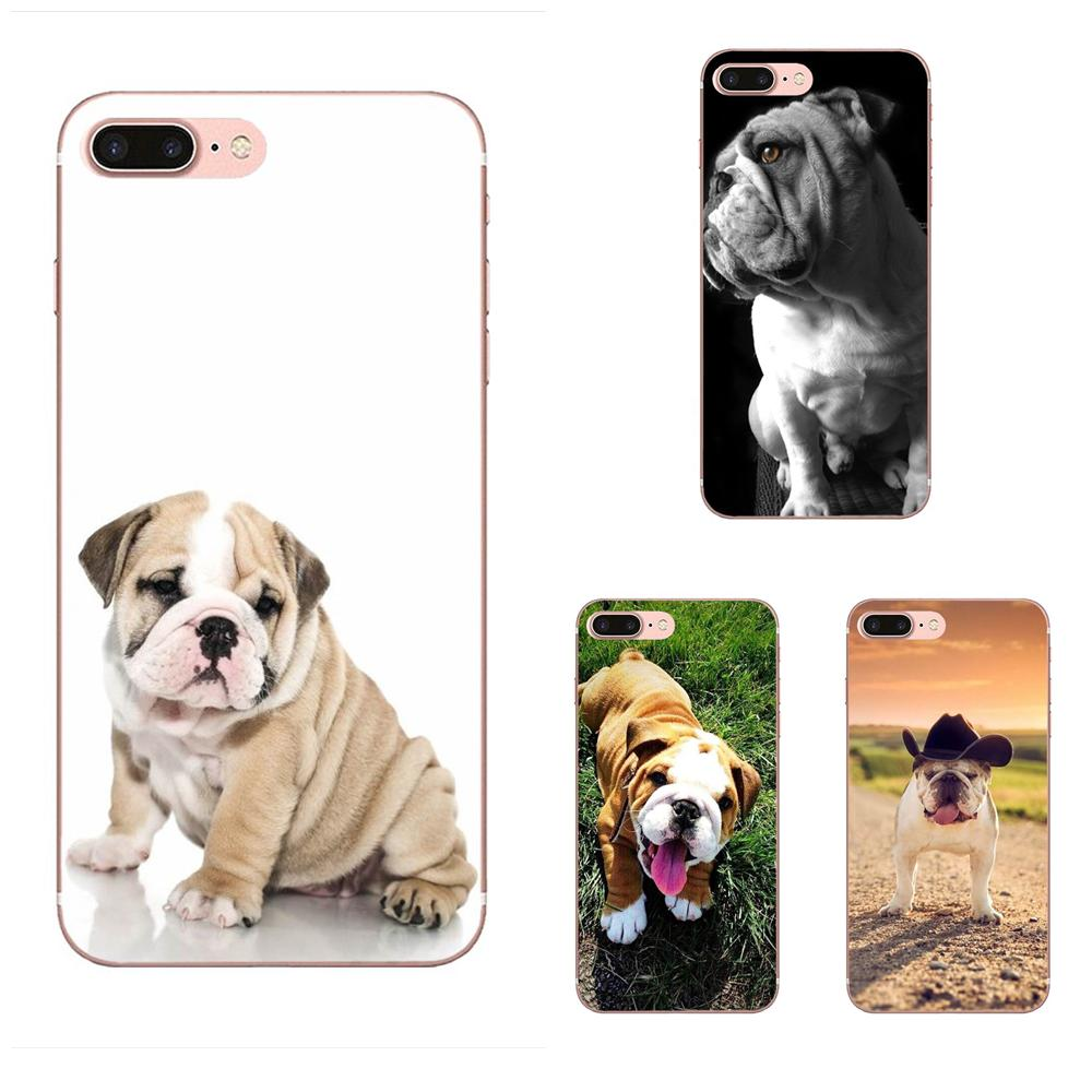 Cute Dog English Bulldog On Sale! Cool For Galaxy J1 J2 J3 J330 J4 J5 J6 J7 J730 J8 2015 <font><b>2016</b></font> 2017 2018 mini Pro image