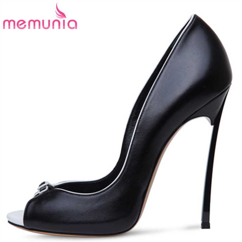 MEMUNIA classic new arrive women pumps fashion shallow peep toe spring autumn single shoes elegant ladies office shoes memunia 2018 new arrive women pumps