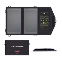 ALLPOWERS 10W Solar Mobile Phone Charger USB Solar Phone Charger For IPhone Samsung HTC Sony LG