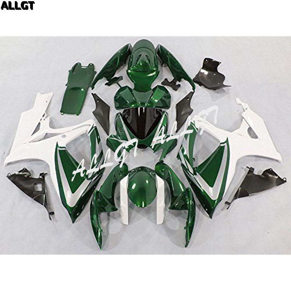ABS Plastic Injection <font><b>Fairings</b></font> Body <font><b>Kits</b></font> For Suzuki GSX-R750 GSX-R600 K6 2006 <font><b>2007</b></font> <font><b>GSXR</b></font> <font><b>600</b></font> 750 K6 06 07 image