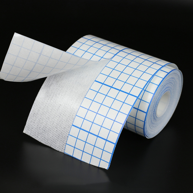 Non-woven Adhesive Plaster Medical Tape Breathable Bandage Anti-allergic Medicinal Wound Dressing Fixation Tape Drug Patches