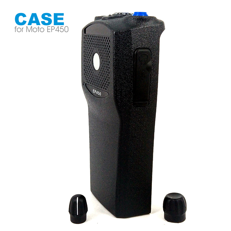 5 Pieces Walkie Talkie Front Outer Case Housing Cover Shell for Motorola EP450 Two Way Radio