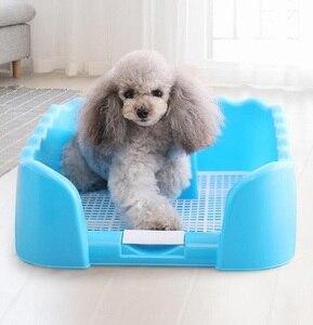 Accesorios para perros y gatos desmontables, orinal portátil para perros y mascotas, bandeja para vallas de entrenamiento, bandeja para Puppy de interior, inodoro