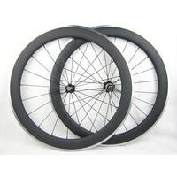60mm Carbon Wheels Clincher With Alloy Brake Surface R36 Hub Road Bike Carbon Wheelset Aluminum Braking