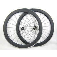 60mm Carbon Wheels Clincher With Alloy Brake Surface R36 Hub Road Bike Carbon Wheelset Aluminum Braking
