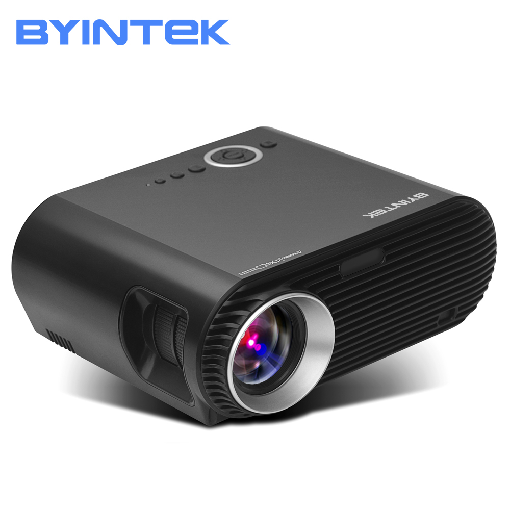 BYINTEK Brand BL127 1280x800 Movie Cinema Game USB HDMI fulL hD LCD LED Video Projector For 1080P Home Theater Party byintek moon gp90 1280x800 cinema usb full hd video wxga led hdmi vga 1080p home theater projector beamer projetor proyector