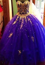 Bealegantom New 2018 Gold Lace Quinceanera Dresses Ball Gown Crystals Up Vestido De Debutante Sweet 16 Party Dress QA1468