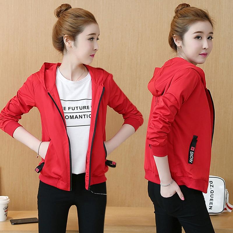 Jackets Women 2019 New Women's Basic Jacket Fashion Windbreaker High Quality Outwear Female Baseball Women Coat NS4210 30