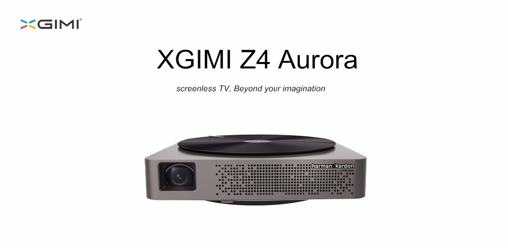 XGIMI Z4 Aurora Screenless TV LED Home 3D Projector with Harman Kardon Customized Stereo Gesture Control