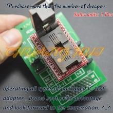 QFN8 5*6мм dfn8 размером MLF8 WSON8 голову-просачиваться-QFN8 адаптер для банды-08 программист