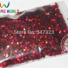 2 мм голографические винно-красные блестки для ногтей и других аксессуаров DIY