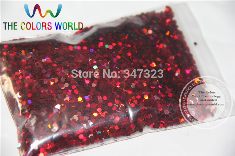 2MM Holographic Wine Red Color Glitter Sprinkling Sequins for nail art and other DIY accessories цена