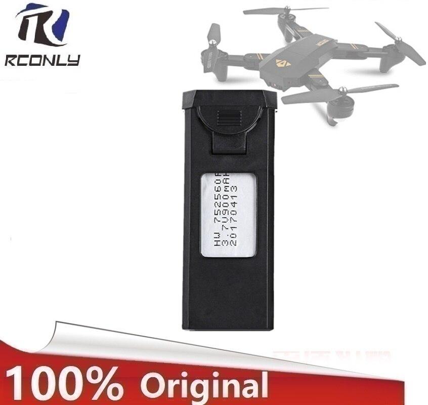 Originale per VISUO XS809HW XS809W RC Quadcopter Ricambi Accessori 3.7 V 900 mAh Lipo Batteria Ricaricabile per RC Droni