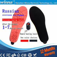 Electric Powered Heated Insoles For Flat Women Shoes Boots Keeping Feet Warm Free Shipping EUR SIZE