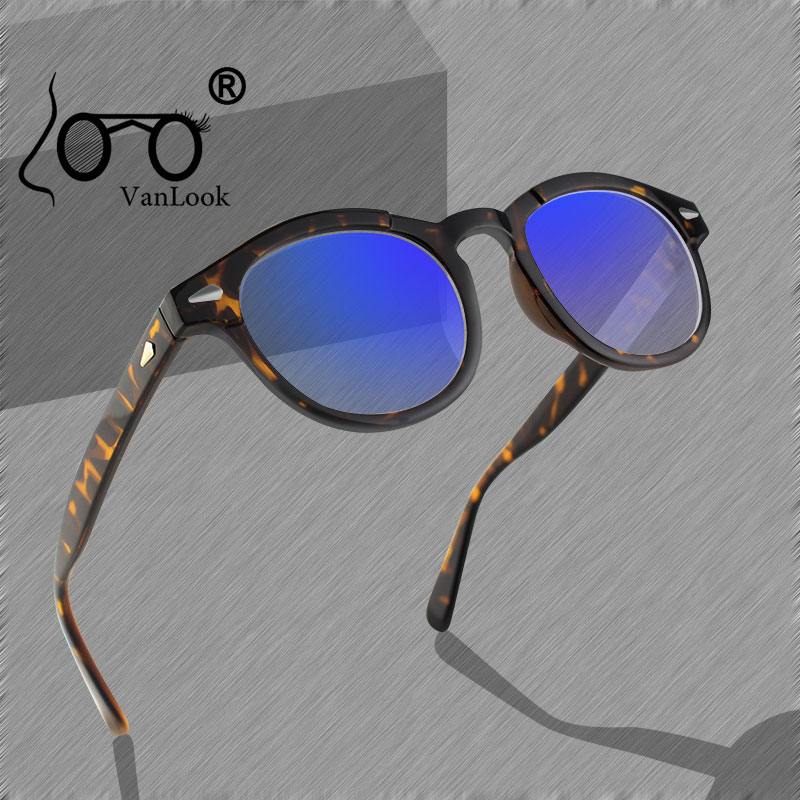 Fashion Computer Glasses Round Transparent Spectacle Frame Clear Lenses for Women Mens Feminino Armacao