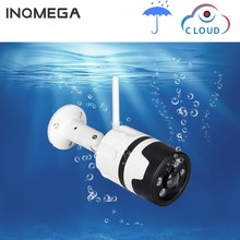 INQMEGA Wifi zewnętrzna kamera IP 1080P 720P wodoodporna bezprzewodowa kamera do monitoringu dwukierunkowa Audio Night Vision P2P kamera CCTV typu Bullet
