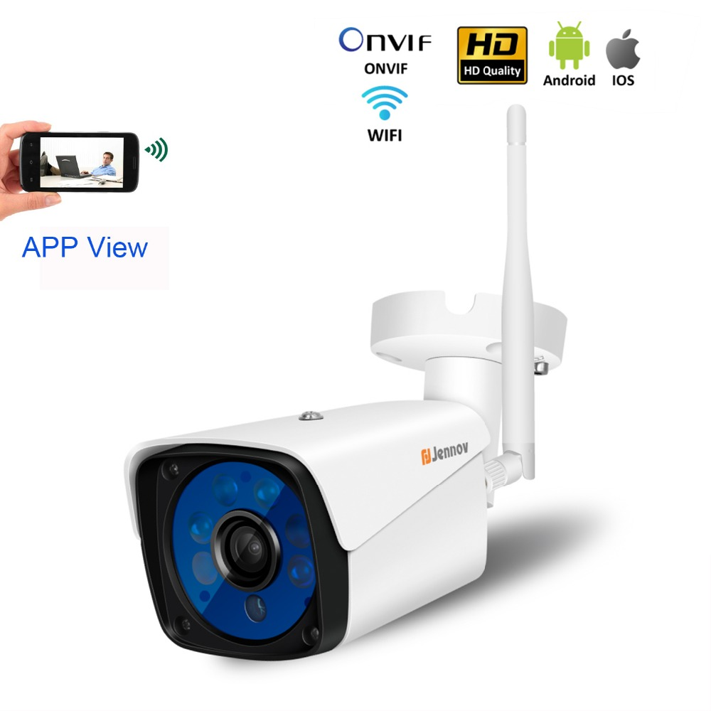 HD Wireless Wifi Camera Home Security IP Camera 720P 960P 1080P Outdoor Waterproof Onvif SD TF Card Slot APP View IR Night View micro sd tf card 1080p ip camera sony322 sensor security camera ip waterproof night vision p2p phone remote view freeshipping