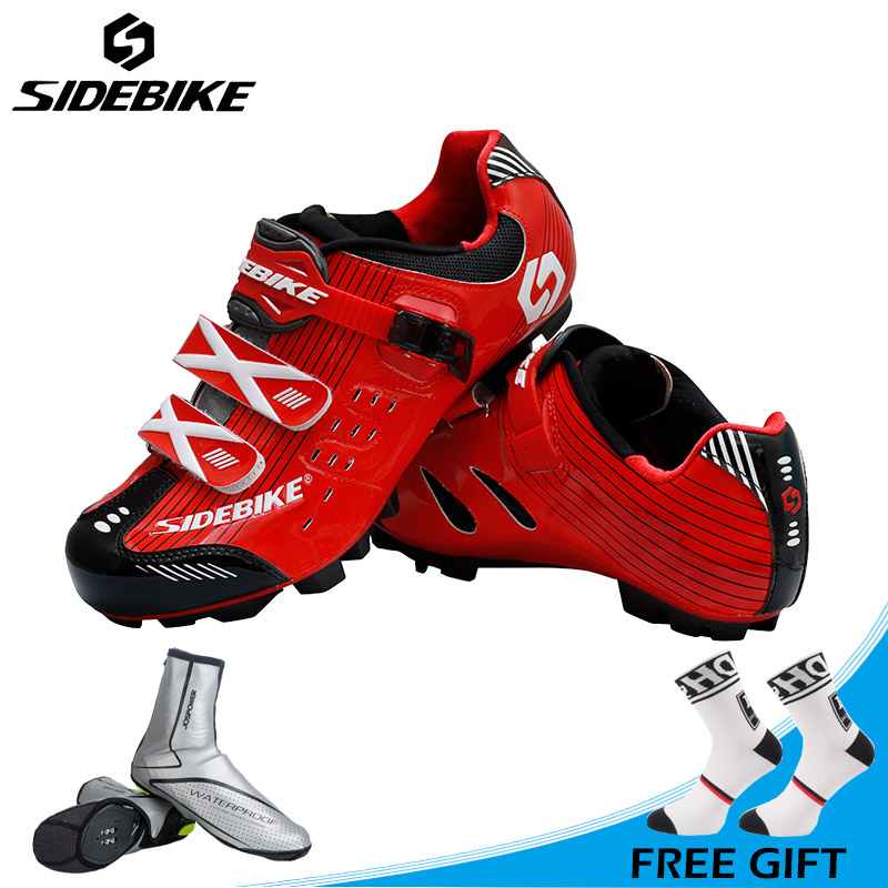 Sidebike Breathable MTB Bike Shoes Auto-lock Mountain Bicycle Shoes Riding Sneakers Non-slip Cycling Shoes Zapatos de ciclismo racmmer cycling gloves guantes ciclismo non slip breathable mens