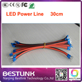 Оптовая led power line для подключения светодиодный модуль led мощность 30 см/шт. 20 шт./лот led кабельной линии для наружных электронных перемещение текста
