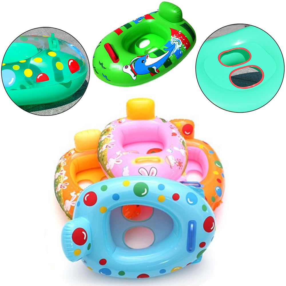 Inflatable Swimming Ring Swimming Circle Pool Float Baby Ring Swimming Float Inflatable Mattress Rings For Children Lemon Flooat