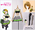 Amor. Muse Rock despertar tarjeta Koizumi Hanayo Cosplay disfraz  personalizado Plaid falda Mini falda calcetines 2de8a7e697af