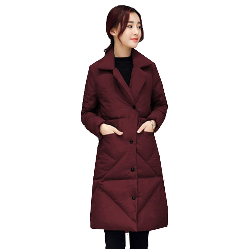 все цены на  YAGENZ Winter new cotton jacket women's self-cultivation in the long section of the coat waist cotton clothing army green lapel  онлайн