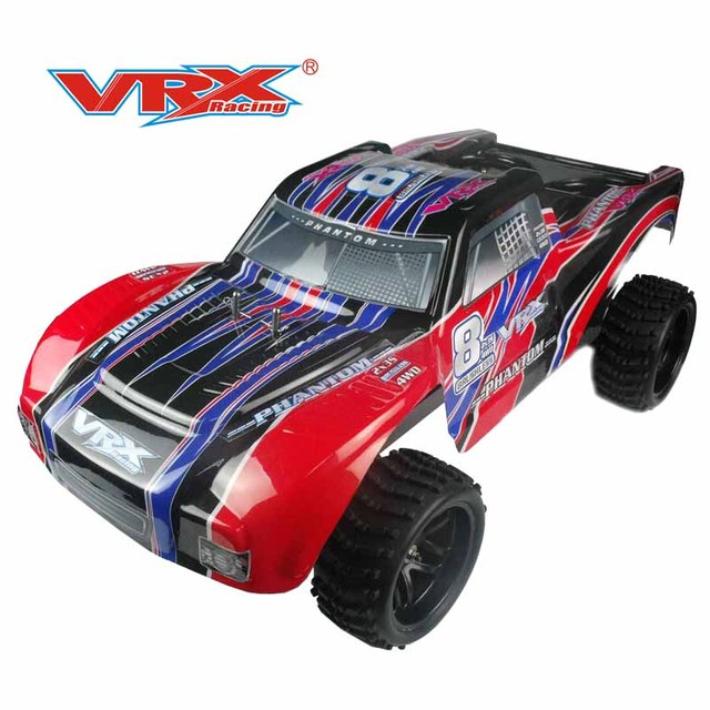 US $526 9 |RC truck 1:5 VRX Racing Phantom 1/5 brushless short course truck  remote control toys 4wd battery not included rc model 1/5 truck-in RC Cars
