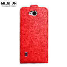 LIHAIJUN, High Quality Pu Leather Flip Case For IRULU U4 MINI 4G LTE Case Cover 5 Colors(China (Mainland))