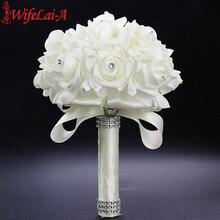 WIFELAI-A bouquet Romantique De Mariée B ...