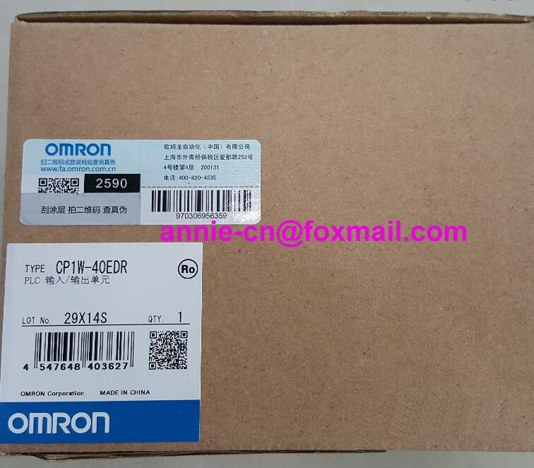 100% New and original CP1W-40EDR  OMRON  PLC CONTROLLER   Input/output unit cp1w 16er new and original omron plc controller plc module