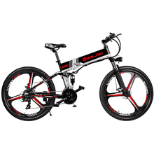26 Inch Folding Mountain Bike Electric Bicycle Lithium Battery 48v Off-road
