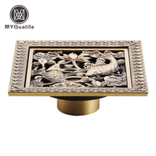 Popular Decorative Shower DrainBuy Cheap Decorative Shower Drain - Decorative square shower drain cover