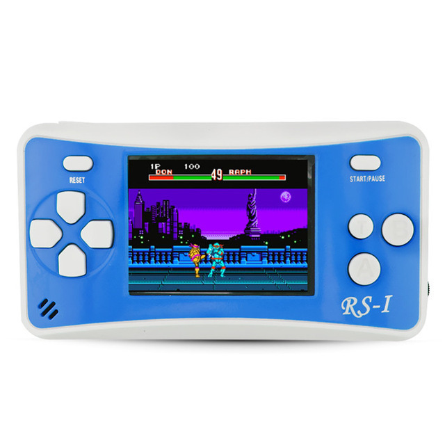 Portable Game Console 2.5 Inch Handheld Game Player Built In 89 No Repeat Classic Games Consoles Best Gift For Kids