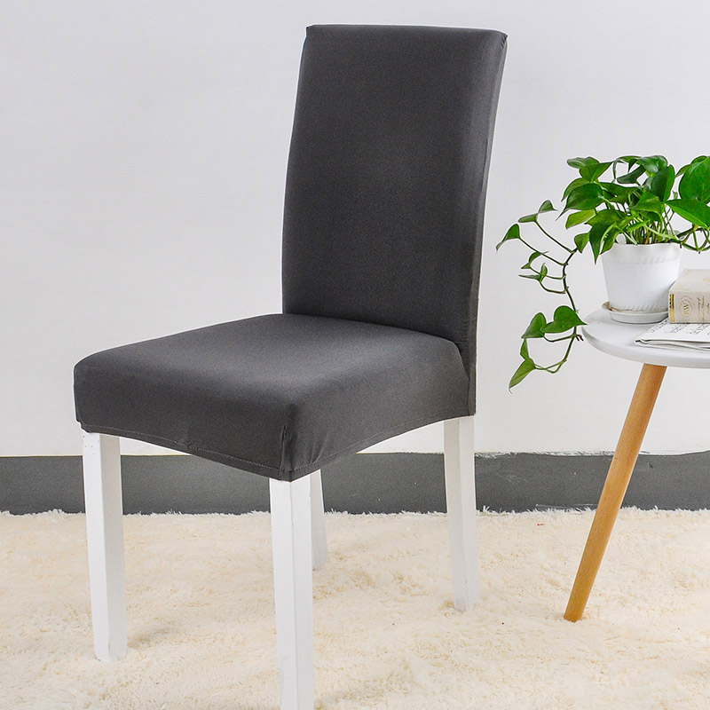 Jednolite kolory Elastyczna elastyczna elastan Krzesło na wesele - Tekstylia do domu - Zdjęcie 3