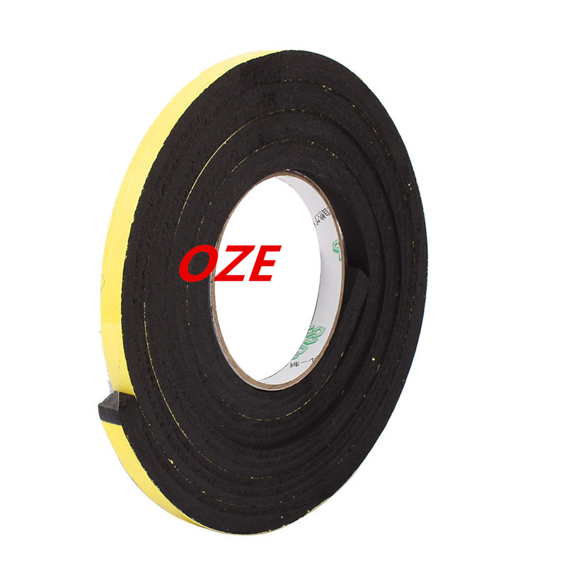 10mmx10mm Single Sided Self Adhesive Shockproof Sponge Foam Tape 2M Length 12 x 10mm single sided self adhesive shockproof sponge foam tape 2m length